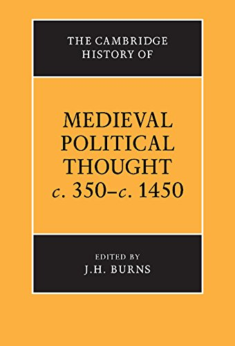 9780521243247: The Cambridge History of Medieval Political Thought c.350-c.1450 Hardback (The Cambridge History of Political Thought)