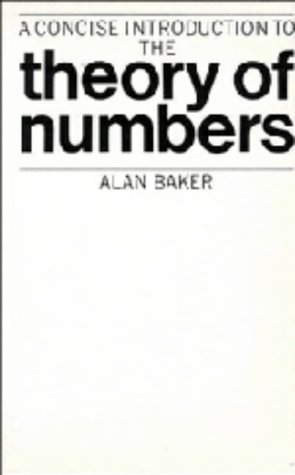 9780521243834: A Concise Introduction to the Theory of Numbers