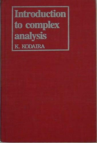 9780521243919: Introduction to Complex Analysis