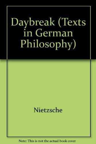 9780521243964: Daybreak (Texts in German Philosophy)