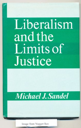 9780521245012: Liberalism and the Limits of Justice (Cambridge Studies in Philosophy)