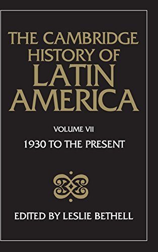 9780521245180: The Cambridge History of Latin America: Volume 7