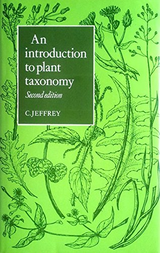 9780521245425: Introduction Plant Taxonmy