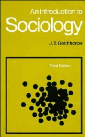 9780521245456: An Introduction to Sociology