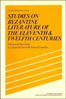 9780521246569: Studies on Byzantine Literature of the Eleventh and Twelfth Centuries (Past and Present Publications)