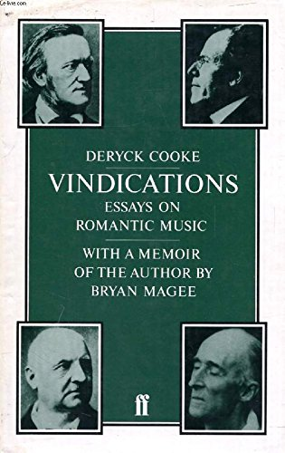 9780521247658: Vindications: Essays Romantic Music