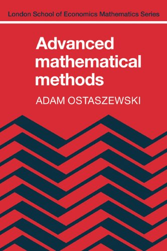 9780521247887: Advanced Mathematical Mathods (London School of Economics Mathematics)