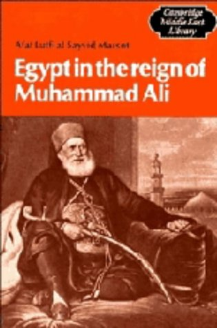 9780521247955: Egypt in the Reign of Muhammad Ali (Cambridge Middle East Library)