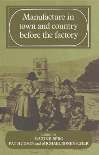 9780521248204: Manufacture in Town and Country Before the Factory
