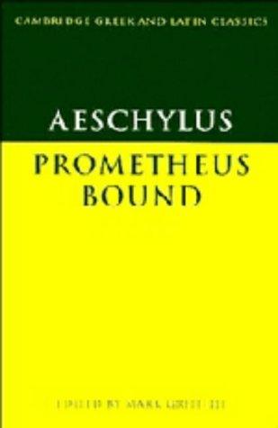9780521248433: Aeschylus: Prometheus Bound (Cambridge Greek and Latin Classics)