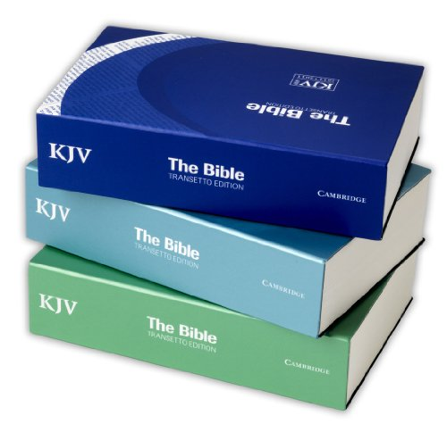 9780521250375: KJV Transetto Text Edition Pack of 9