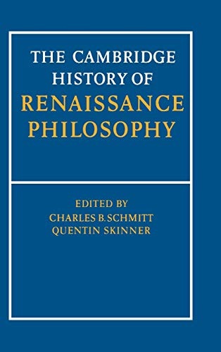9780521251044: The Cambridge History of Renaissance Philosophy Hardback