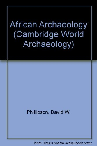 9780521252348: African Archaeology (Cambridge World Archaeology)