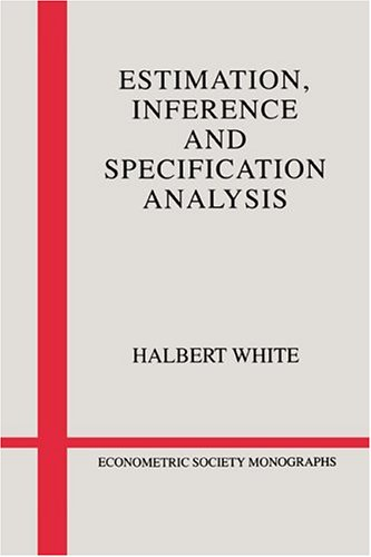 9780521252805: Estimation, Inference and Specification Analysis