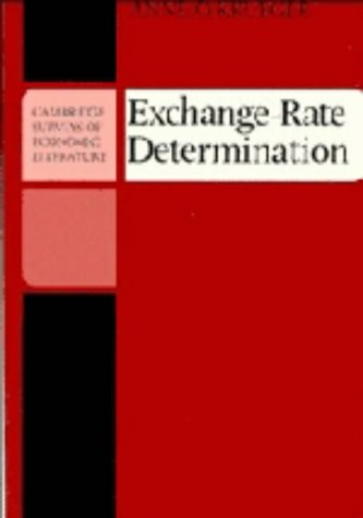 Exchange-Rate Determination (Cambridge Surveys of Economic Literature)