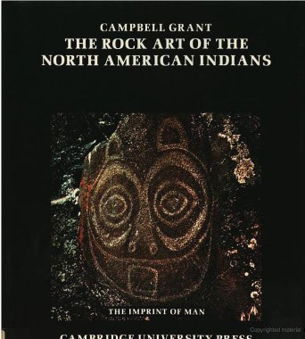 9780521254434: The Rock Art of the North American Indians (The Imprint of Man)