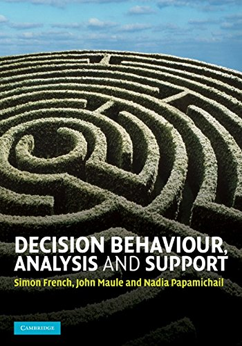 9780521255165: DECISION BEHAVIOUR ANALYSIS AND SUPPORT