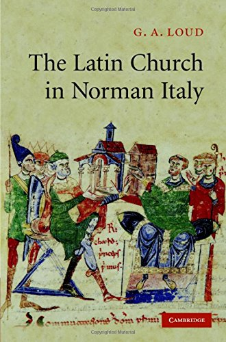 9780521255516: The Latin Church in Norman Italy