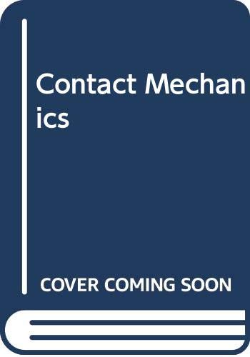 9780521255769: Contact Mechanics