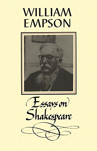 William empson essays on shakespeare