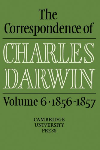 9780521255868: The Correspondence of Charles Darwin: Volume 6, 1856-1857