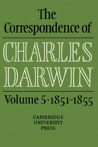 9780521255912: The Correspondence of Charles Darwin: Volume 5, 1851-1855