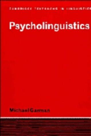 a psycholinguistics report on genie Genie: a psycholinguistic study of a modern-day wild child (perspectives in neurolinguistics and psycholinguistics) ebook: susan curtiss, harry a.