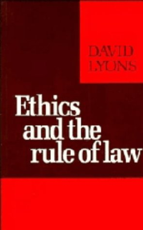 9780521257855: Ethics and the Rule of Law