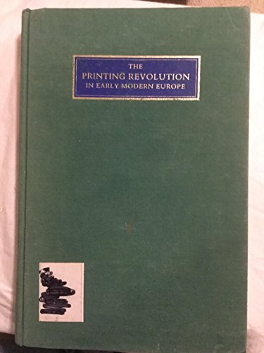 9780521258586: Printing Revolution Early Modern Europe