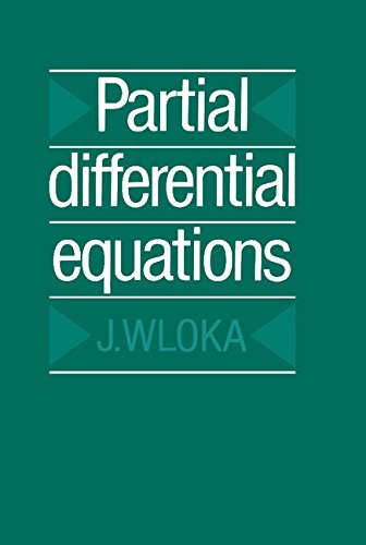 Partial Differential Equations: Wloka, J.