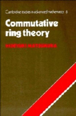 9780521259163: Commutative Ring Theory