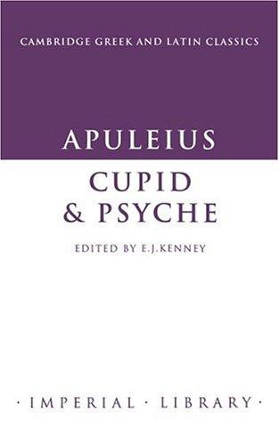 9780521260381: Apuleius: Cupid and Psyche