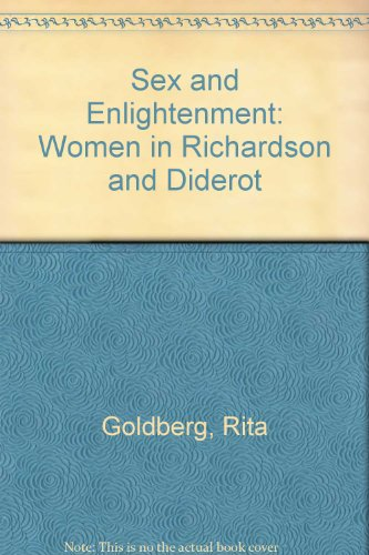 9780521260695: Sex and Enlightenment: Women in Richardson and Diderot