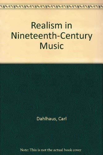 9780521261159: Realism in Nineteenth-Century Music