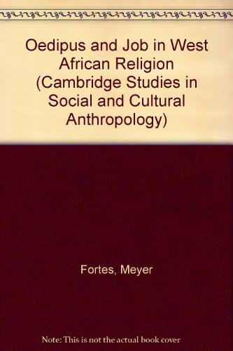9780521262088: Oedipus and Job in West African Religion (Cambridge Studies in Social and Cultural Anthropology)