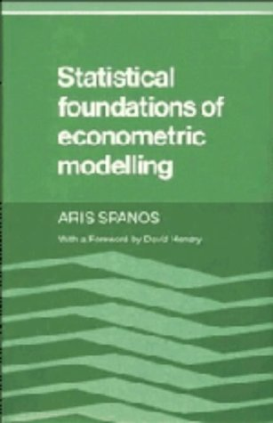 9780521262859: Statistical Foundations of Econometric Modelling