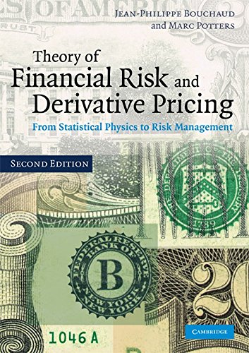 9780521263368: Theory of Financial Risk and Derivative Pricing: From Statistical Physics to Risk Management