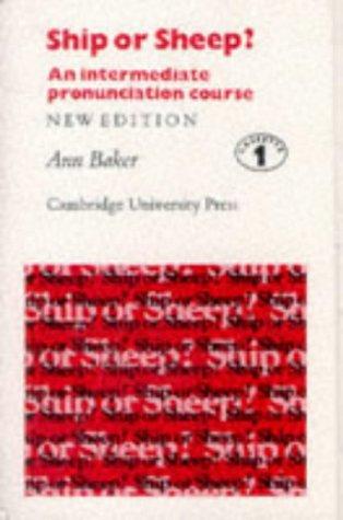 9780521263580: Ship or Sheep? Cassettes (3): An Intermediate Pronunciation Course