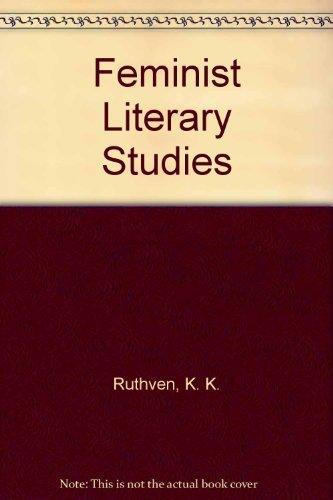 9780521264549: Feminist Literary Studies