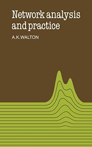 Network Analysis and Practice: Alan Keith Walton