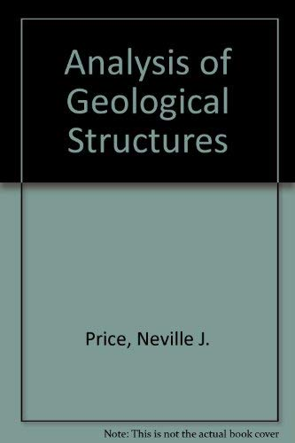9780521265812: Analysis of Geological Structures