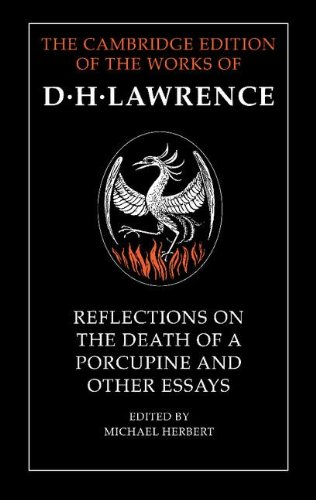 9780521266222: Reflections on the Death of a Porcupine and Other Essays (The Cambridge Edition of the Works of D. H. Lawrence)