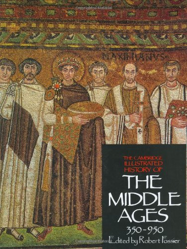 9780521266444: 1: The Cambridge Illustrated History of the Middle Ages Volume I, 350-950 (Volume 1)