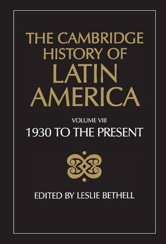 9780521266529: The Cambridge History of Latin America: Volume 8