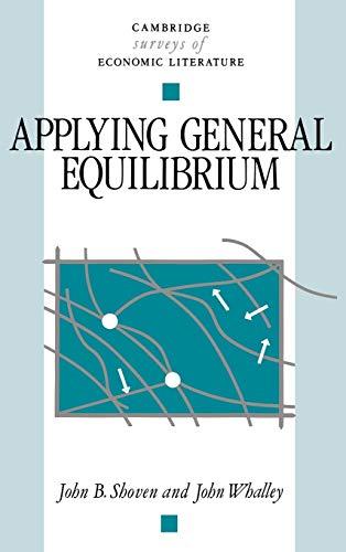 9780521266550: Applying General Equilibrium Hardback (Cambridge Surveys of Economic Literature)