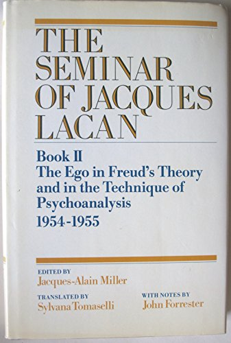 9780521266802: The Seminar of Jacques Lacan: Book 2: The Ego in Freud's Theory and in the Technique of Psychoanalysis 19541955 (Bk. 2)