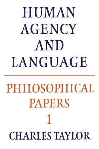 9780521267526: Philosophical Papers: Volume 1, Human Agency and Language (Pt. 1)