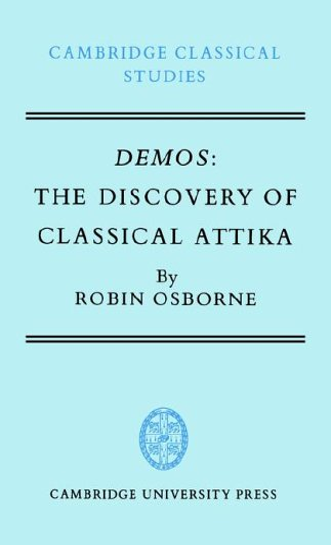 9780521267762: Demos: The Discovery of Classical Attika (Cambridge Classical Studies)