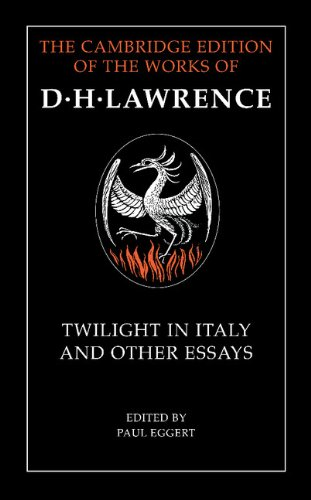 9780521268882: Twilight in Italy and Other Essays (The Cambridge Edition of the Works of D. H. Lawrence)