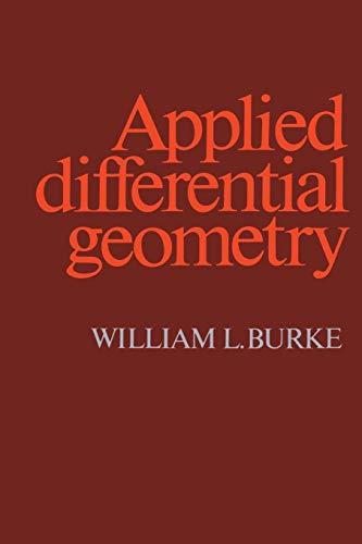 9780521269292: Applied Differential Geometry